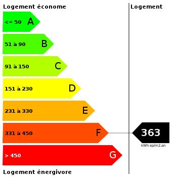 Diagnostic de performance énergétique : 363